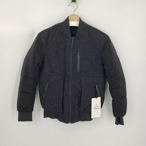 New Lululemon Roam Far Wool Bomber Jacket Size 2